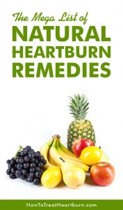Get Relief From Heartburn Naturally