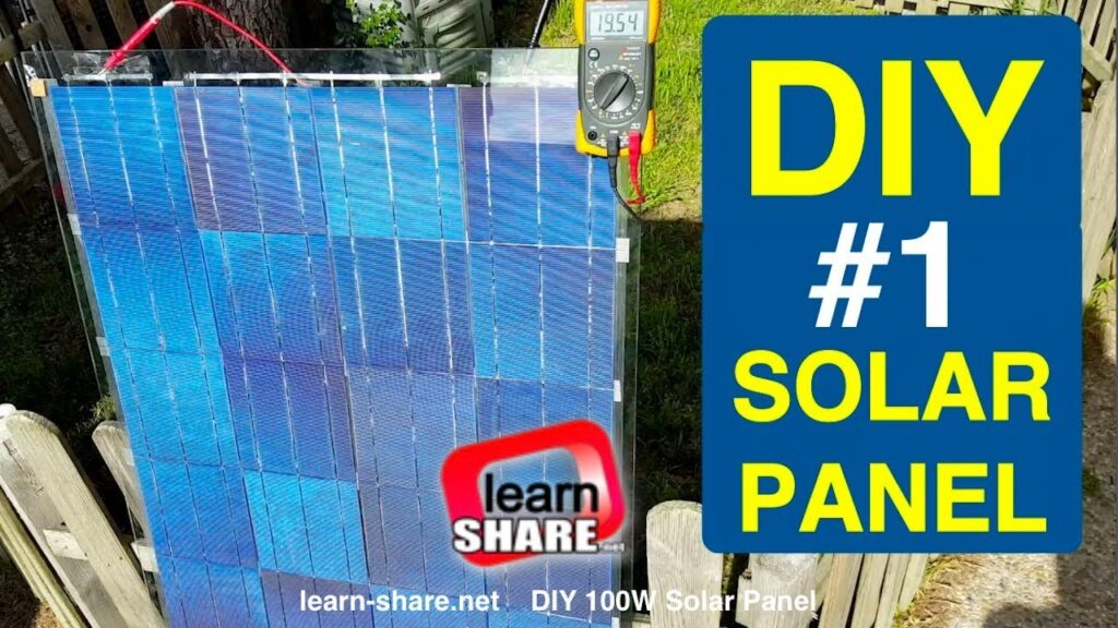 How To Make A Small Solar Panel